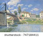 The Bridge At Villeneuve La...