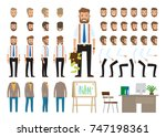 business style create your... | Shutterstock . vector #747198361