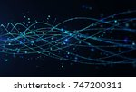 abstract star dust particle... | Shutterstock . vector #747200311
