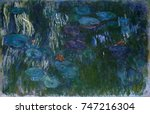 Water Lilies  By Claude Monet ...