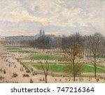 Garden Of The Tuileries. Winter ...