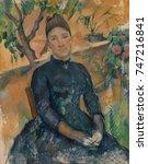 Madame Cezanne  By Paul Cezann...