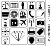 set of 22 business icons or...