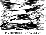 print distress background in... | Shutterstock .eps vector #747266599