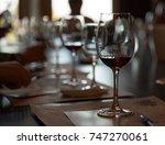 wine tasting  | Shutterstock . vector #747270061
