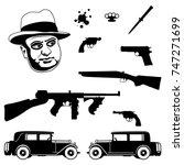 gangster italian mafia set....