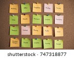 brainstorming concpets | Shutterstock . vector #747318877