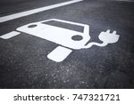 Parking Symbol For Electric...