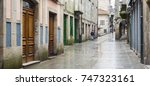 pontevedra  spain   march 29 ... | Shutterstock . vector #747323161