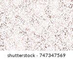 vector rose gold marble... | Shutterstock .eps vector #747347569