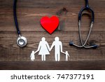 take out health insurance for... | Shutterstock . vector #747377191
