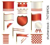 Red And White Regal Banners ...