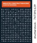 industry and construction icon... | Shutterstock .eps vector #747391129