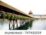lucerne  switzerland  october... | Shutterstock . vector #747432529