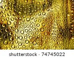 a grunge bubbles as a texture... | Shutterstock . vector #74745022