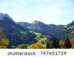 scenic view of switzerland. | Shutterstock . vector #747451729