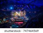 saint petersburg  russia  ...   Shutterstock . vector #747464569