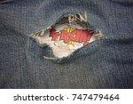 Ka Boom Blue Jeans