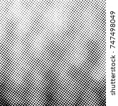 ink print distress background . ... | Shutterstock . vector #747498049