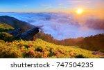 autumn scenery of hehuan...   Shutterstock . vector #747504235