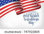 7 december pearl harbor... | Shutterstock .eps vector #747522805