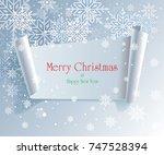 christmas cards   illustration  | Shutterstock .eps vector #747528394