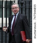 Small photo of LONDON - OCT 31, 2017: Michael Gove Secretary of State for Environment, Food and Rural Affairs attends a Cabinet meeting at 10 Downing Street in London