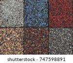 roofing material asphalt...   Shutterstock . vector #747598891