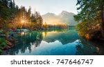 Amazing Autumn Sunrise Of...