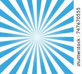 blue rays background   Shutterstock .eps vector #747670555