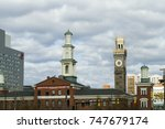 baltimore  maryland   nov 14 ... | Shutterstock . vector #747679174