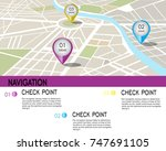 the navigator always helps to... | Shutterstock .eps vector #747691105