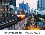 bangkok  thailand   aug 25  ... | Shutterstock . vector #747707671