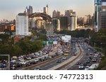 sydney city highway full of... | Shutterstock . vector #74772313