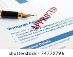 mortgage application   Shutterstock . vector #74772796