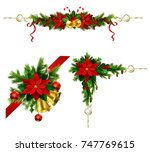 christmas elements for your... | Shutterstock .eps vector #747769615
