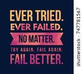 inspirational and motivational... | Shutterstock . vector #747781567