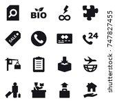 16 vector icon set   search...   Shutterstock .eps vector #747827455