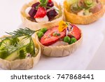 Tartlet With Strawberry And A...