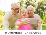 family  generation and people... | Shutterstock . vector #747872989