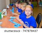 children on vacation children's ... | Shutterstock . vector #747878437