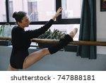 Ballet Dancer Practicing...