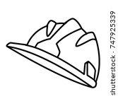 hardhat worker helmet | Shutterstock .eps vector #747925339