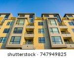 residential modern buildings ...   Shutterstock . vector #747949825