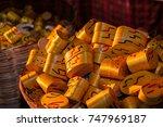 handicrafts  guatemalan wooden... | Shutterstock . vector #747969187