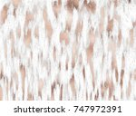 abstract gold print animal... | Shutterstock .eps vector #747972391