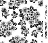 abstract elegance seamless... | Shutterstock .eps vector #747982351