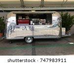 auckland  nov. 1  a vintage... | Shutterstock . vector #747983911