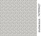 white chevron fabric texture.... | Shutterstock .eps vector #747999427