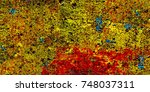 abstract colorful background.... | Shutterstock . vector #748037311